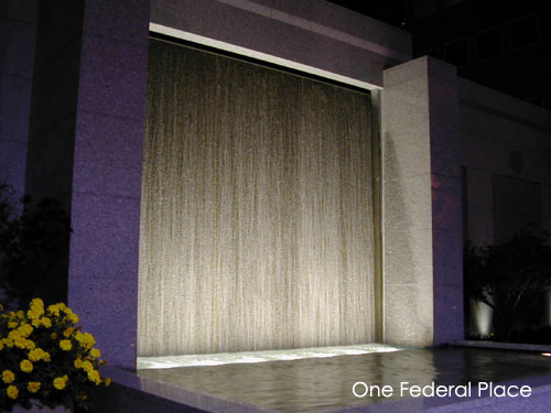 One Federal Place Water Wall